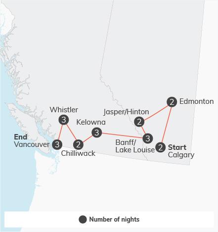 Western Canada Adventure - 21 days 12