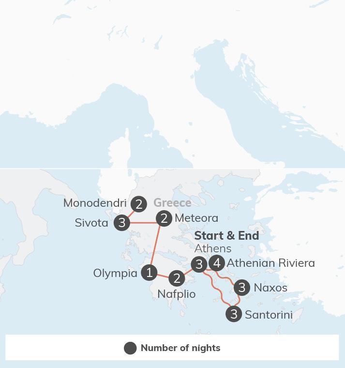 Greece & the Islands - 25 days  [03/27/2020]